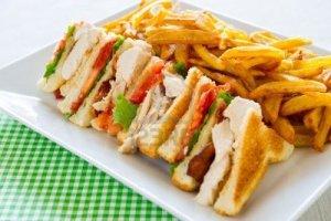 mmmm. club sandwich.