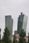 Not sure exactly what these buildings are...on the main pedestrian strip in Astana